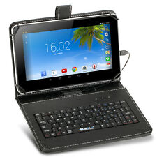 """NEW 2017  9"""" Inch Quad Core 8 GB Tablet PC Netbook Android 4.4 with Keyboard"""