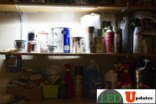 UL POWER SUPPLY Kitchen UNDER CABINET LED LIGHT CLOSET COUNTER WORKSHOP 5000K