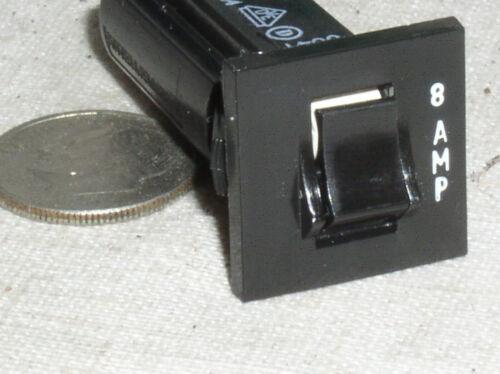 NEW POTTER BRUMFIELD W28-XQ1A-8 313932508 8A 8 AMP 32V AC DC CIRCUIT BREAKER USA