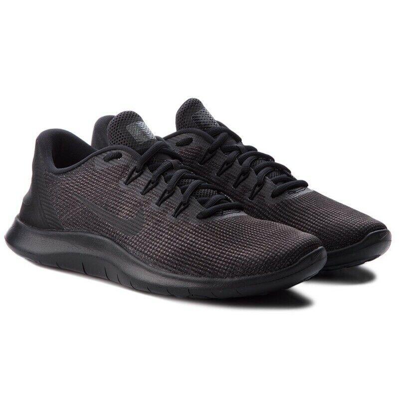 Nike Flex rn AA7397-002 tamaño 8,5 9,5 10 11 12 13 Negro Zapatillas De Hombre Nuevo