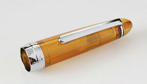 992 Spiral Coffee Color Office Fountain Pen Fine Nib 0.5mm 5.31*0.47 inch #