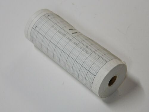 24hr 120mm chart 40920-0-30005 recording paper strip chart 0-100c