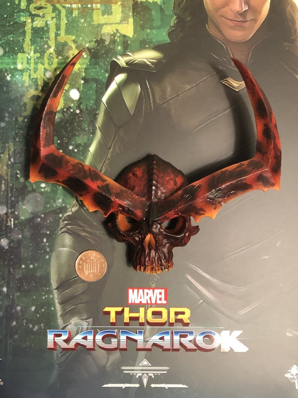 Hot Toys Thor Ragnarok Loki MMS472 Surtur's Skull loose 1 6th scale