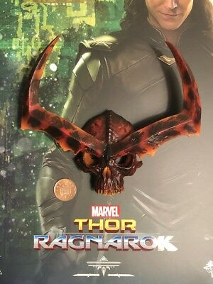 Hot Toys Thor Ragnarok Loki MMS472 Head Sculpt loose 1//6th scale
