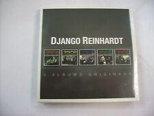DJANGO REINHARDT - 5 ALBUMS ORIGINAUX - 5CD BOXSET NEW SEALED 2014