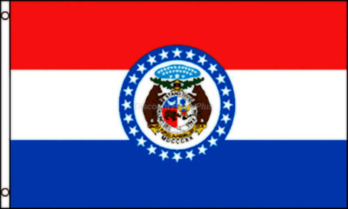 Missouri State Official Usa Flag 3x5 Polyester