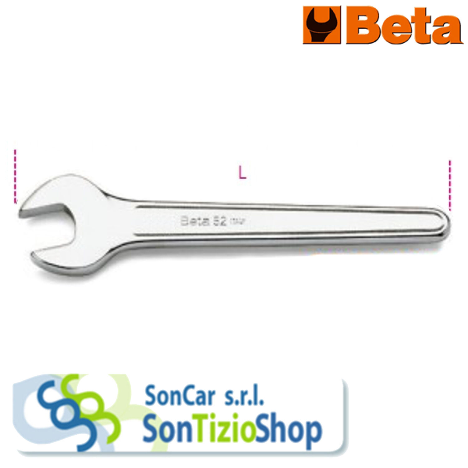 Key open end wrenches Simple mod. 52 ORIGINAL BETA  Enters and choose the Model