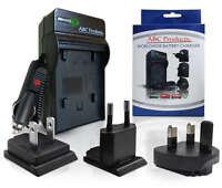 WORLDWIDE BATTERY CHARGER FOR CANON EOS 70D DIGITAL DSLR SLR CAMERA LP-E6 - LPE6
