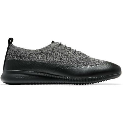 Cole Haan Womens 2.ZeroGrand Knit Lace-Up Wingtip Oxfords Shoes BHFO 4983
