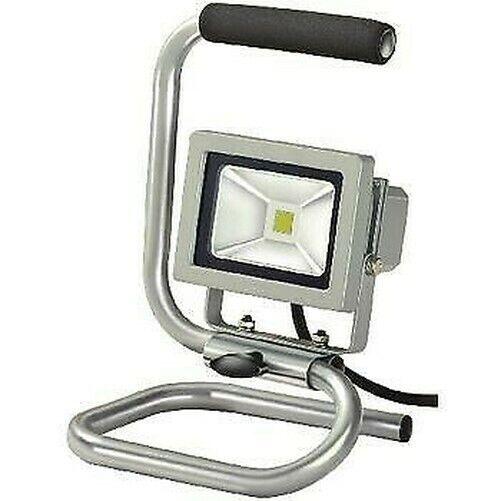 Leuchtturm Mobil Led- mit Griff Verkehr 10 W 700 Lm Grau