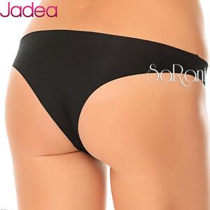 3 Underwear Jadea Brazilian Cotton Laser Cutting Art. 8001 White Nude 2 3 4