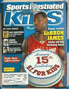 LEBRON JAMES SPORTS ILLUSTRATED FOR