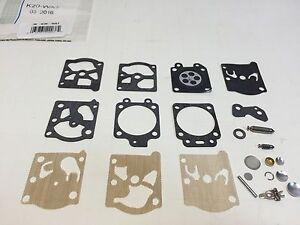 Walbro K20-WAT K11-WAT Carburetor Carb Repair Rebuild Kit STIHL 026 MS260 024 MS240