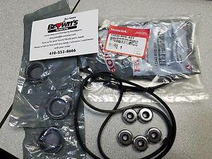 2010 Honda Pilot For Sale >> NEW GENUINE HONDA ACURA V6 VALVE COVER GASKET KIT SET (2) 12030-RYE-A01 | eBay