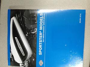 2007-Harley-Davidson-Sportster-Servicio-Tienda-Reparar-Manual-Juego-W-Electrico