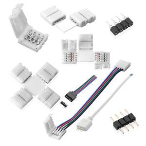 Zubehor-LED-Streifen-RGB-Strip-Adapter-Verbinder-Verteiler-Verlangerung-Kabel