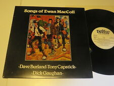 EWAN MacCOLL...Songs of ..UK Rubber Rec 1978....Vinyl/ Cover:mint -
