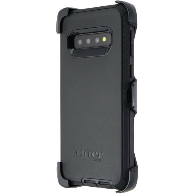 OtterBox Defender Series Case and Holster for Samsung Galaxy S10 - Black