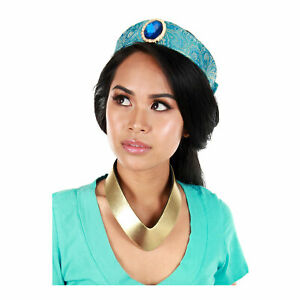 Disney-Aladdin-Princess-Jasmine-Necklace-Crown-Costume-Accessory-Kit-Child-Adult