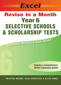 New Excel Selective Schools & Scholarship Test Year 6 Workbook! Maths,Eng,Ga!