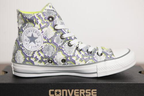 5 Nuove 542479c Sneaker scarpe Uk 4 Ct Star 36 Hi Multi Cht All Converse Misura p7Rrpw