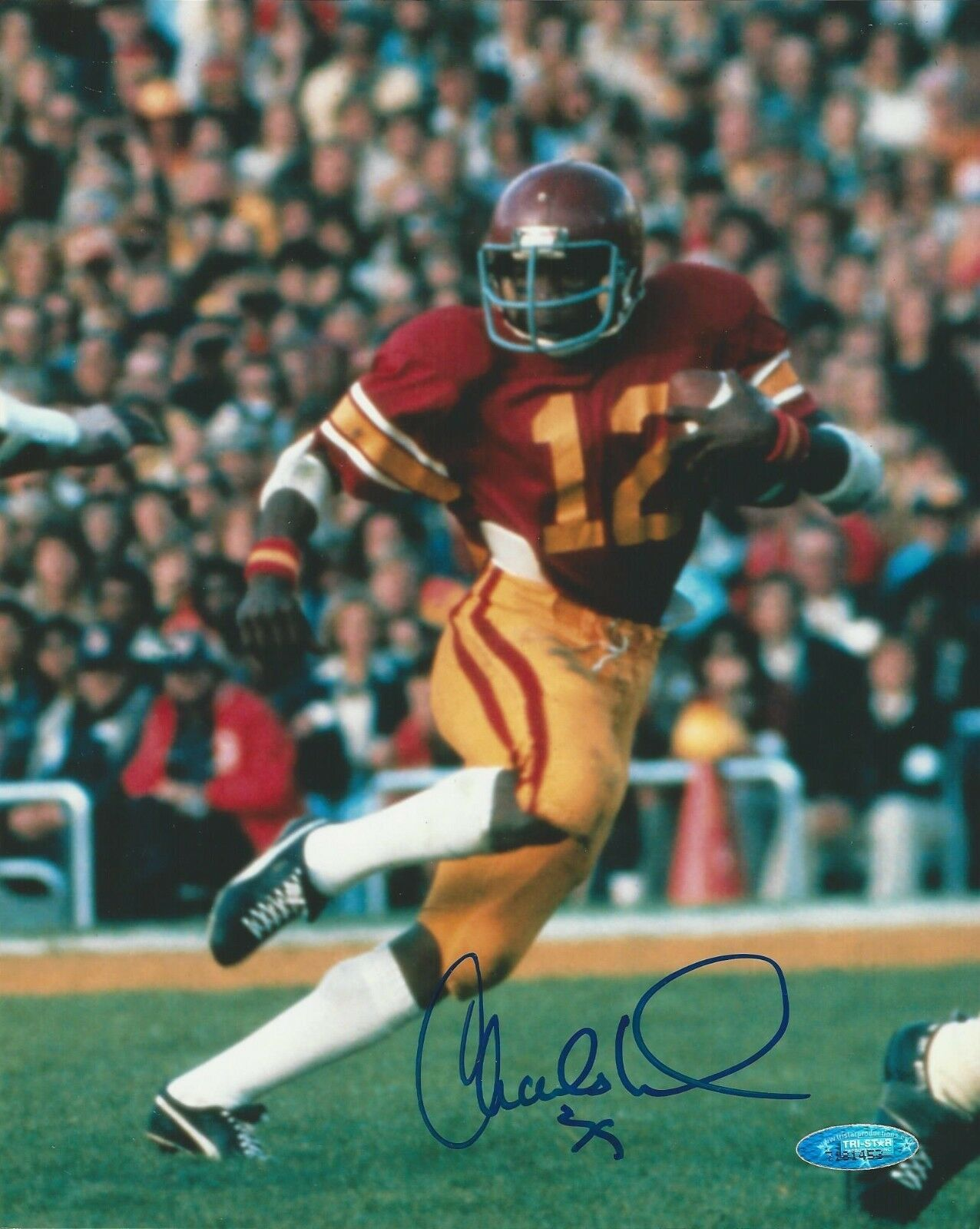 Charles White USC Trojans signed 8x10 photo Tristar COA# 7181453