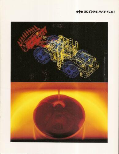 Equipment Brochure - Komatsu Design Manufacturing Company Overview French (E1899