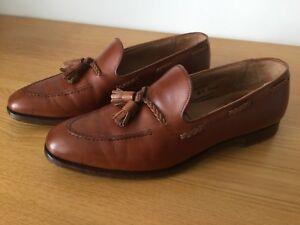 bf505f516306d Crockett & Jones Langham II / 2 Mens Tassel Loafer Tan Size 8.5 ...
