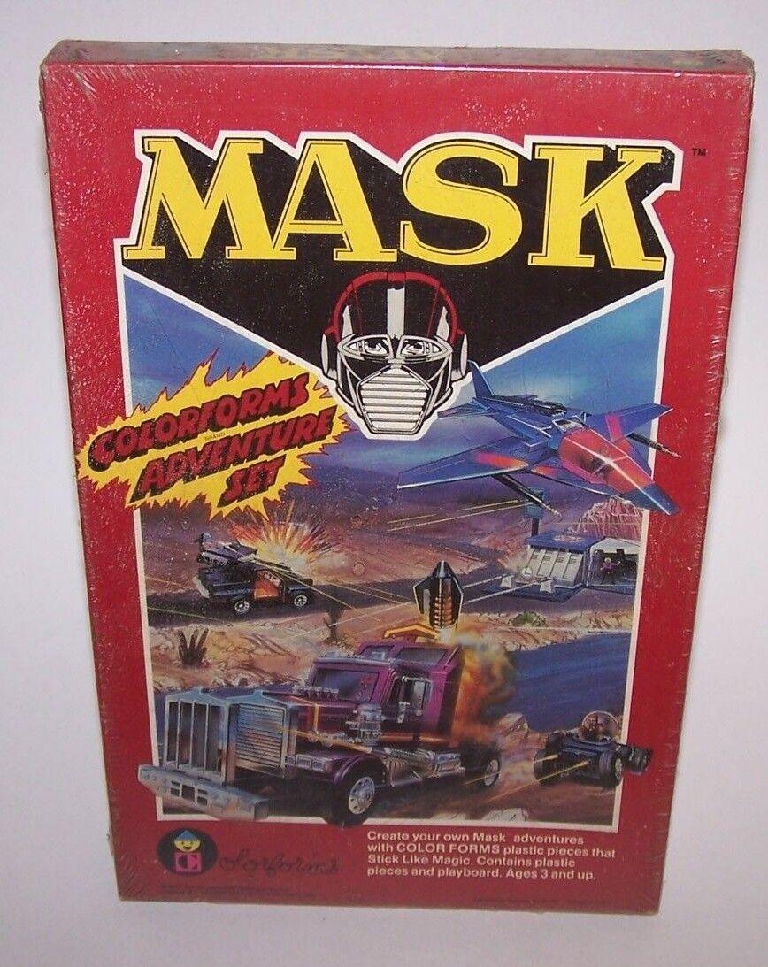 Maske Farbeforms abenteuer spielen wurde versiegelt 1985 nib