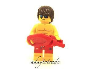 Lego-Collection-Mini-Figure-series-12-Maitre-nageur-71007-7-COL185-R869