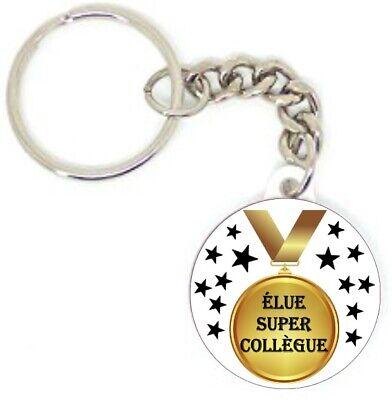 Porte clé badge une collègue formidable idée cadeaux original PERSONNALISÉ