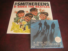 SMITHEREENS BEATLES MEET SMITHEREENS 2 LP SET +  DATE WITH SMITHEREEN 45 SINGLES