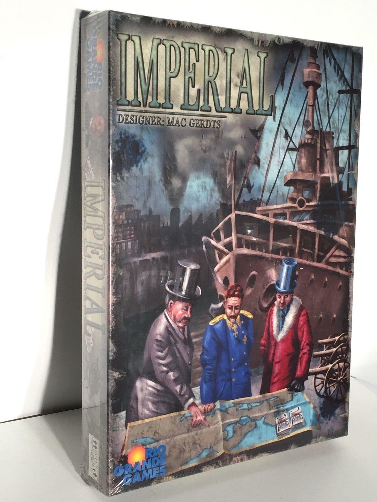 Imperial Rio Grande Games Juego de mesa de estrategia por Mac Gerdts Nuevo En Caja Sellada