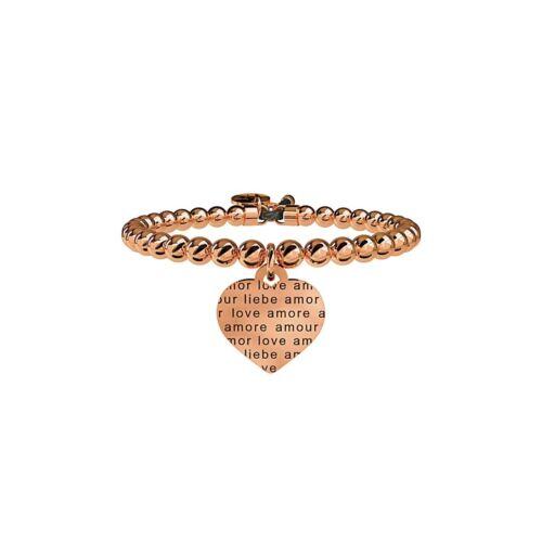 Kidult Bracciale Donna Collezione Love Amore Senza Confini Oro Rosa 731052