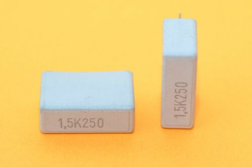 4x Vintage EVOX MMK Folien-Audio-Kondensator Capacitor 1.5 µF // 250 V NOS