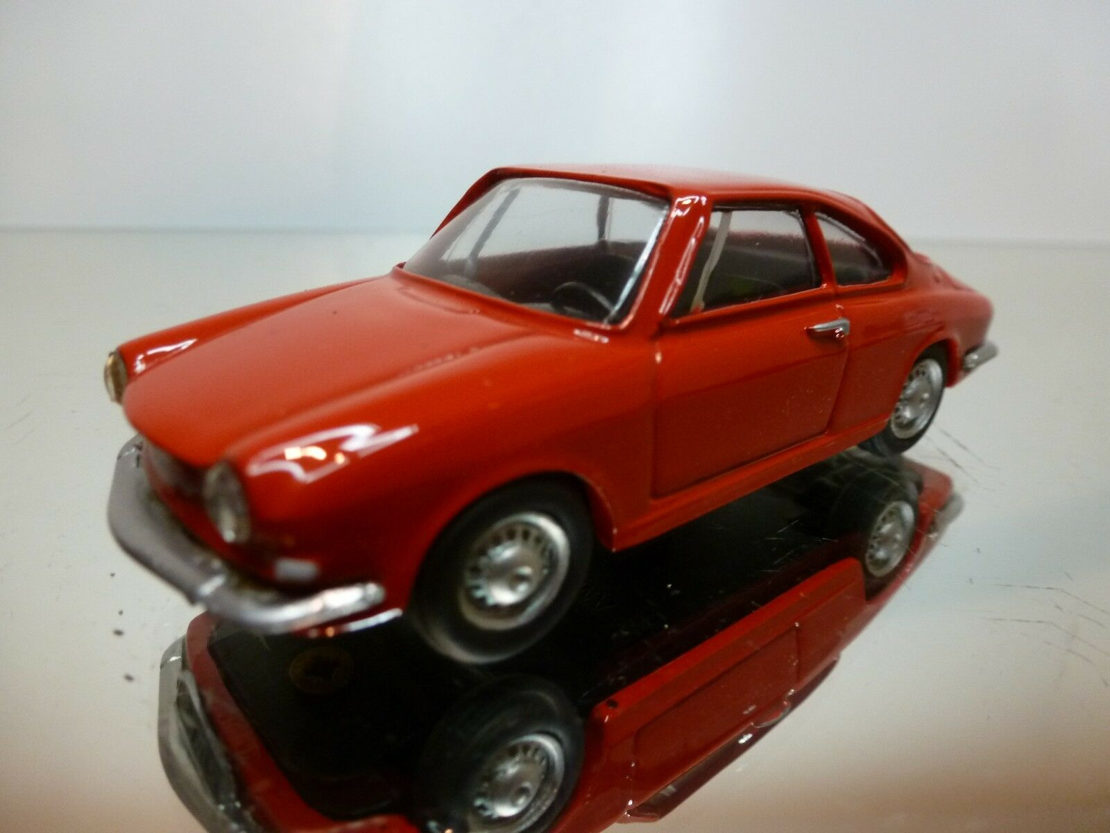 PANORAMA SIMCA 1000 COUPE 1962 - rojo 1 43 - EXCELLENT CONDITION - 9