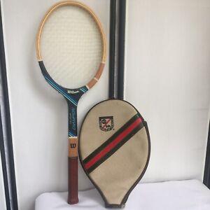 70s Chris Evert wood tennis racquet Wilson tennis racquet