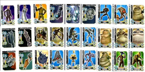 Base Cards 151-180 Star Wars Force Attax Series 3