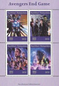 Madagascar-2019-Avengers-End-Game-Movie-4-Stamp-Sheet-13D-274