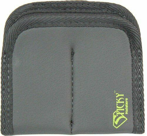 Single Stack Black DMMP up to 40 S/&W Sticky Holsters Dual Mini Mag Pouch