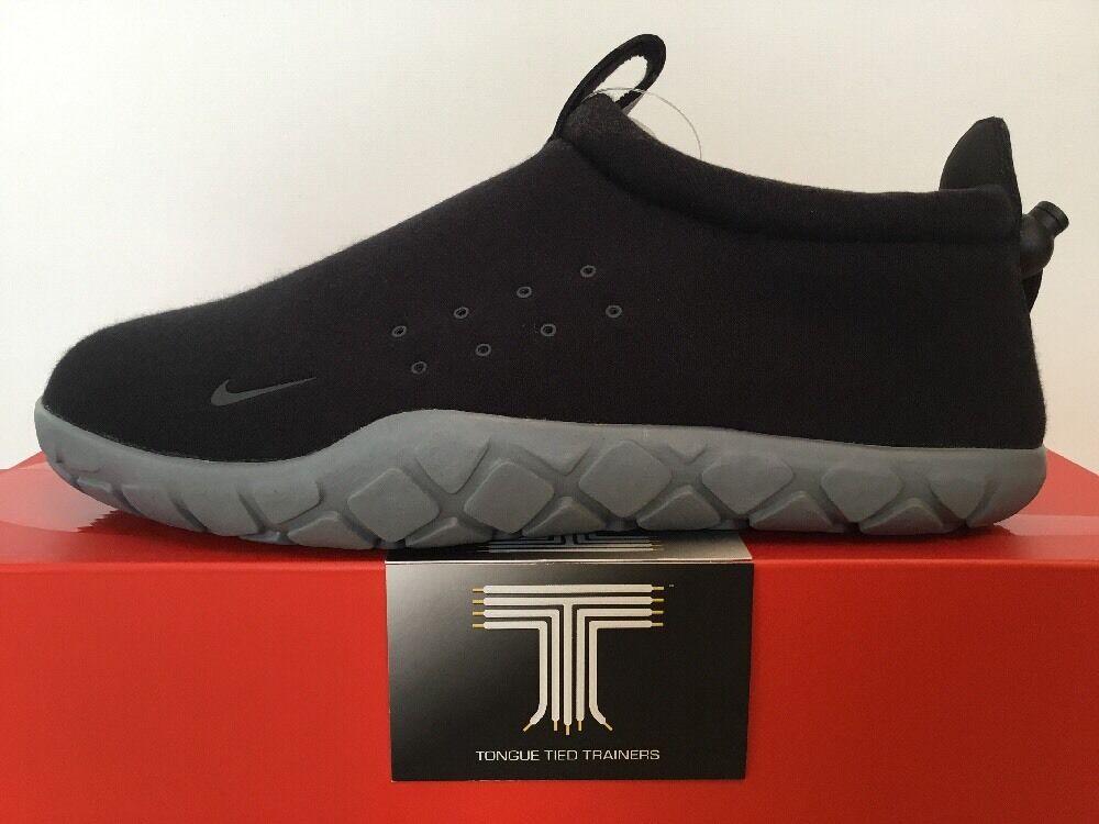 Nike Air Moc Tech Fleece Nikelab  834591 010 Größe  U.K. Größe 010 7 dde64e