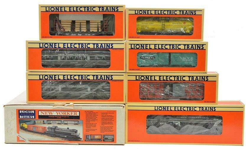 LIONEL - 11744- NEW YORKER SET - 0 027 SCALE- MINT - BR1