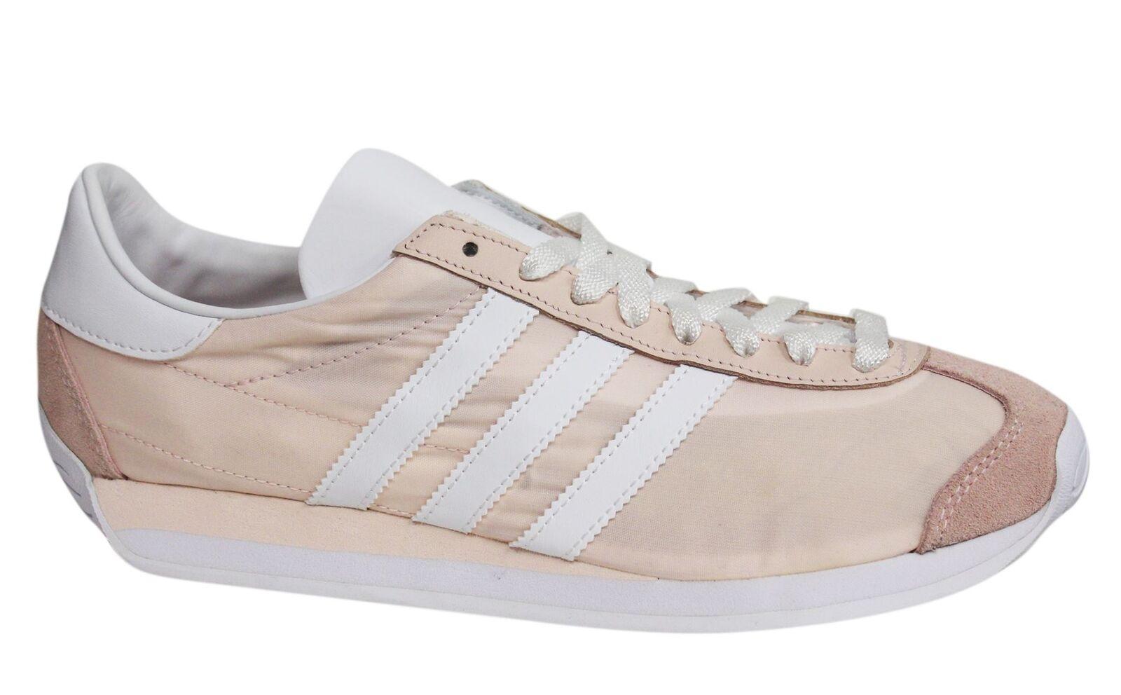 Adidas Originales país con Cordones para S32200 Mujer de Cuero Entrenadores S32200 para M2 Melocotón 880d53