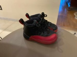 reputable site 1a15f 101cd Details about Vintage Michael Jordan Retro 12s Flu Games size 6C Kids  Children Toddler