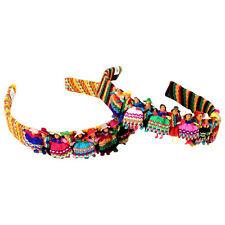 614 12 Worry Doll  Headband Hair Tie Head Accessory Wholesale Pack Assorted Peru