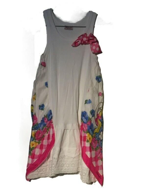 MONNALISA * Sommer Kleid MINI-MOUSE* VESTIDO dress * Girl / Niña *...