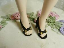 "Cissy /& Aqua//White Org.~ High Heel Doll Shoes for 18/"" /& 20/"" Miss Revlon"
