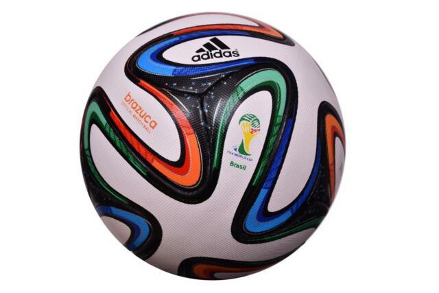 Brazuca 2014 World Cup Brazil FIFA Official Match Ball Soccer Size 5