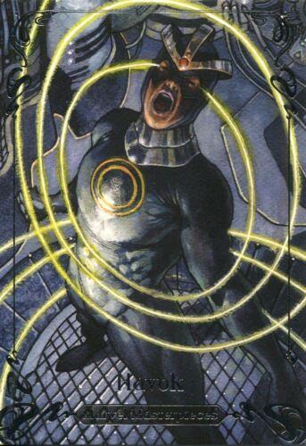 Marvel Masterpieces 2018 Tier 2 Base Card 1499 41 Havok