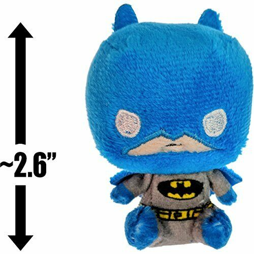 "Funko Batman ~2.6/"" Batman x Mystery Minis Plushies Mini Plush Blue Batsuit"